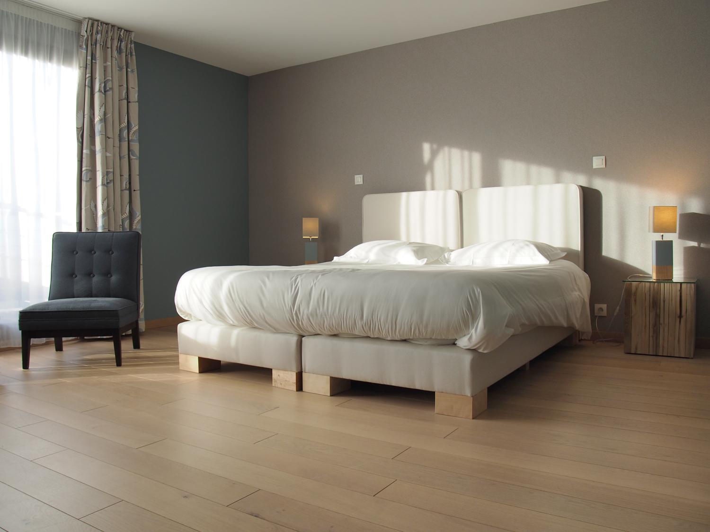Les chambres c t mer le ch teau de sable for Chambre 13 hotel
