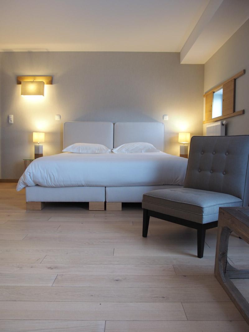 les chambres c t jardin le ch teau de sable. Black Bedroom Furniture Sets. Home Design Ideas