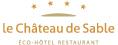 le Château de Sable Sticky Logo