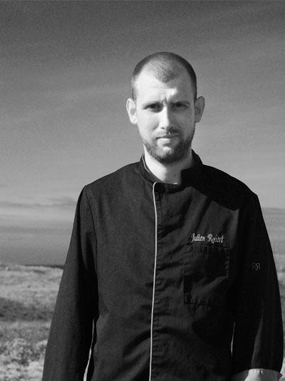 Chef Julien Robert – Le Rivage du Château de Sable